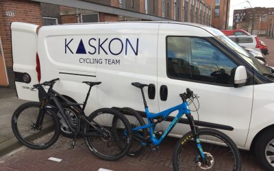 KASKON cycling team naar Marathonman