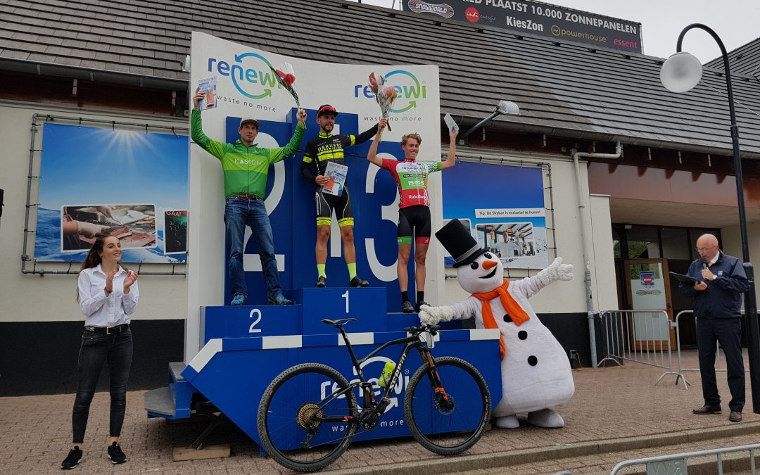 Kaskon Cycling team op podium bij 3 Nations Cup Zoetermeer